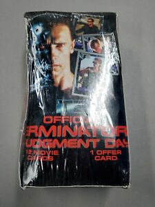1991 Impel Official Terminator 2 Judgment Day Trading Card Box L2