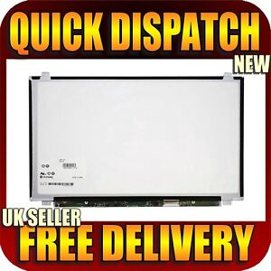 """Glossy HP ProBook 450 G0 G1 G2 Series Laptop Notebook Screen 15.6"""" LED LCD"""