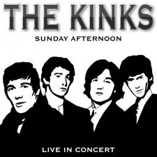 The Kinks : Sunday Afternoon: Live in Concert CD (2016) ***NEW*** Amazing Value