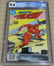 Flash #1 (1987) CGC 9.6 White Pages Canadian Edition $1.00 cover price !!!
