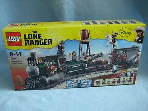 Lego Lone Ranger 79111 Eisenbahnjagd Constitution Train Chase neu + ovp