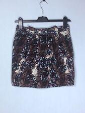 Precioso Estampado Floral Falda de algodón por 'Topshop' , de tamaño 8