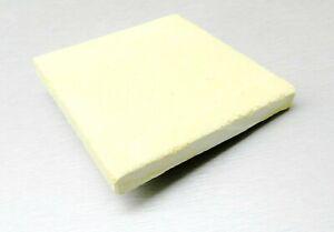"Soldering Block Ceramic Board Jewelry Making Heat Resistant 4"" x 4"" Square Plate"