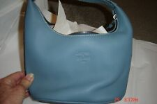 "DOONEY & BOURKE VERY SMALL ""GREEN"" LEATHER HOBO BAG-NEW WITHOUT TAGS!!  CUTE!!!!"