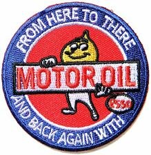 ESSO Motor Oil Gas Station Logo Racing Patch Sew Iron on Jacket T-shirt Cap Hat