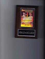 ERIK MORALES vs WAYNE McCULLOUGH POSTER PLAQUE BOXING PHOTO PLAQUE CHAMPION