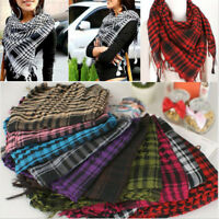 Unisex Latest Women Men Arab Shemagh Keffiyeh Palestine Scarf Shawl Wrap Scarves