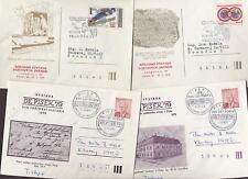 Tchécoslovaquie 1970 fine utilisé ill.stationery..12 points
