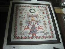 THEA GOUVERNEUR SASSENHEIM HOLLAND STILLE NACHT CROSS STITCH 26 x 23.6 INCHES