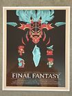Final Fantasy Nes Nintendo Video Game RPG Art Print Poster Mondo Skinny Bonsai
