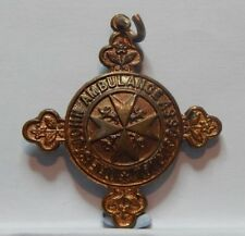 St Johns Ambulance Bronze Medal 433343 Joseph Clarke