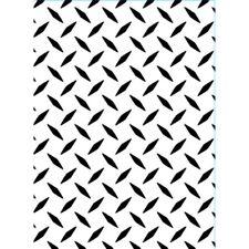 4.25x5.75 Darice Embossing Folder DIAMOND PLATE Pattern Sizzix 1218-101