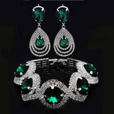 Emerald Rhinestone Fashion Jewellery