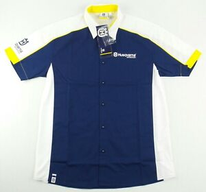 NEW Husqvarna Team Technical Mechanic Shirt Size Men's Medium M
