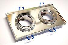 CROMPTON TWIN K9  Mirror Glass Downlight 12V 2 x 50W - Clear