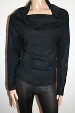 Crossroads Brand Black Long Sleeve Bardot Neck Knitwear Jumper Sz 20 BNWT #SC97