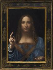 Salvator Mundi  by Leonardo da Vinci  Giclee Canvas Print Repro