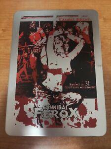 Cannibal Ferox steelbook edition numbered numerata con postcards