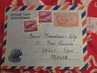 timbre inde india entier postal aerogramme 85p 1975 stamp