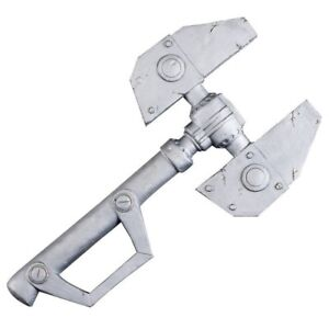 """RATCHET AND CLANK WRENCH HUGE 18 X 10"""" LARP COSPLAY BATTLE AX WEAPON FOAM RUBBER"""