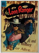 THE LONE RANGER #98 1956 EARLY SILVER AGE NICE!