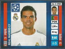 PANINI UEFA CHAMPIONS LEAGUE 2013-14- #093-REAL MADRID-PEPE