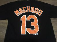 Baltimore Orioles Manny Machado Small Jersey Style T Shirt MLB Baseball 13