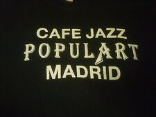 Cafe Jazz Populart Madrid Vintage Shirt ( Used Size Xl ) Very Good Condition!