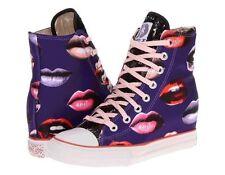 Skechers Grimme-Kisses Women Trainers Purple 7 UK 40 EU