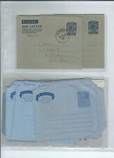 Middle East 11 Aden & Arabia postal stationary KE to later - mint & FD cancels