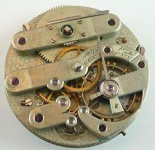 Ernest Duval Geneva Complete Running Pocket Watch Movement  -  Parts / Repair!