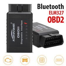 ELM327 Car Bluetooth OBD2 Reader Code Scanner Automotive Diagnostic Tools OBDII
