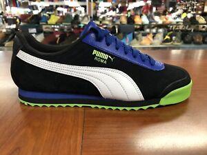 Puma Roma Men's Sizes  Perf XTG Sneakers  Black-Blue-Green  370311-02