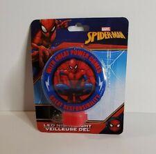 Marvel Spiderman Led Night Light New