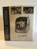 GPX 5 Inch Black and White Portable Television and AM-FM Radio