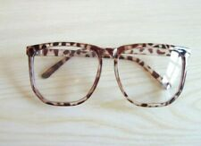 Tortoiseshell Large Square Ladies Optical Lenses Glasses Spectacles Frames NEW