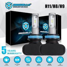 FANLESS H11 H9 H8 CSP LED Headlight Bulb Kit Low Beam  6500K 315000LM Fog Light