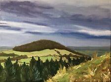 "Original Oil Painting: Whorl Hill 9x12"""