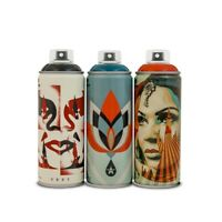 *Obey/Shepard Fairey X Montana Spray Can Paint Set Beyond The Street SOLD OUT*