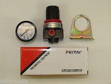 Dental Regulator Air Compressor Manometer Gauge Mount Bracket Lab FEITAI