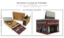 Extreme Sets BUILDING 5 Pop-Up 1/12  Figure Diorama S8 In stock