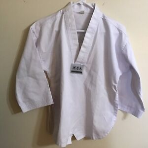 Martial Arts Tae Kwon Do Karate Tiger Koos Uniform Jacket Top Shirt Size 1/150