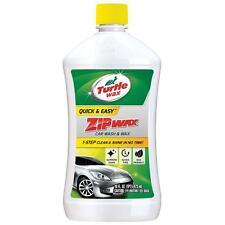 Turtle Wax T-75A Zip Car Wash And Wax Clean Water Door Windows  Wax 16 oz