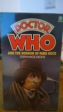 doctor who book - THE HORROR OF FANG ROCK