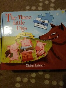 The Three Little Pigs Large Floor Puzzle 48 pieces
