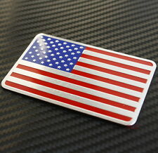 3D Metal Car Decal Logo Emblem Badge Sticker USA United States American Flag New