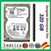 DISCO DURO SATA SEAGATE 320 GB MOMENTUS THIN EXTRAFINO PORTATIL 2,5 2.5 SLIM