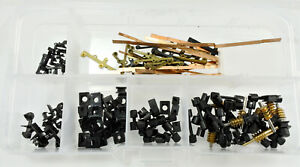 ATLAS N SCALE PARTS COUPLER, COUPLER RETAINER, CONTACT STRIP, WORM & SHAFT......