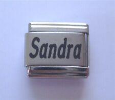 9mm Classic Size Italian Charm  Names Name Sandra