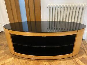 "AVF Affinity Premium Buckingham 1100 TV Stand For TVs Up To 55"", Oak"
